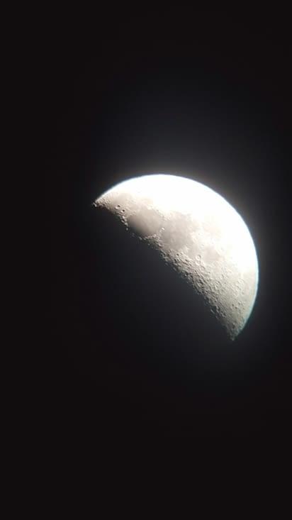 La lune est énorme ce soir !