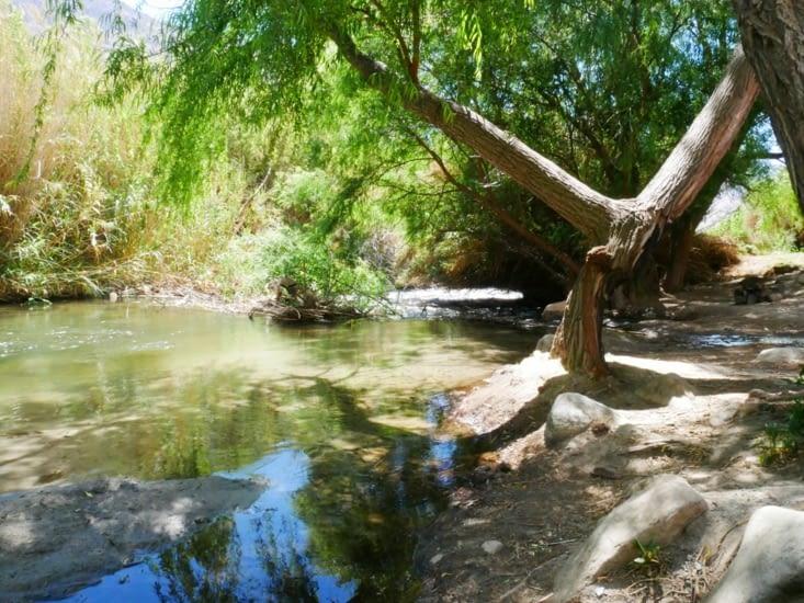 Pause à la rivière