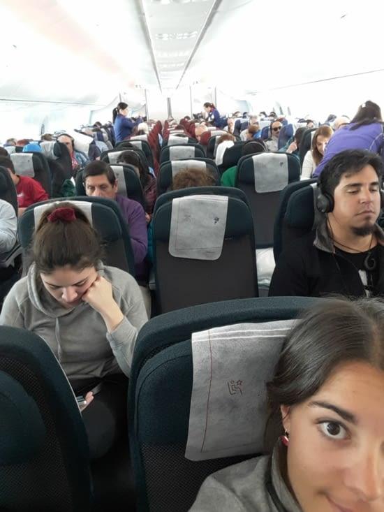 L'avion est immense à notre grande surprise