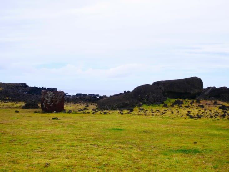 Le plus grand moai de l'île