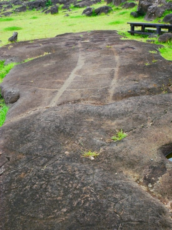 Un site de pétroglyphes impressionnant