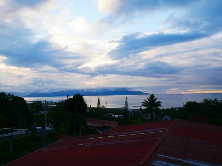 Premier jour sur Tahiti passé
