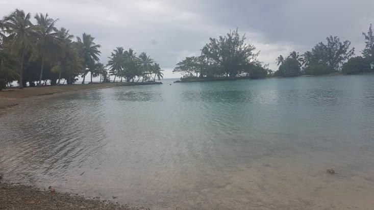 Petit tour sur la presqu'île avant la pluie