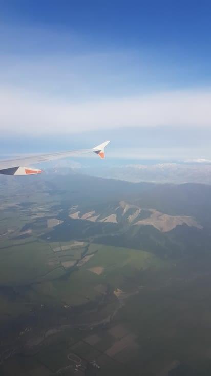 Arrivée sur Christchurch