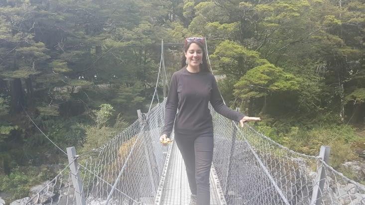 Petit pont suspendu