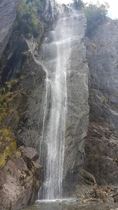 Nombreuses cascades avec l'arrivée de l'été