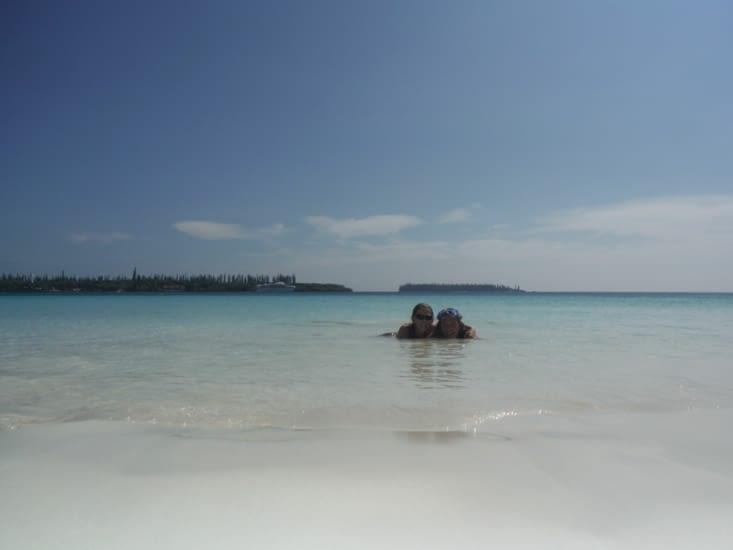 Baie de Kuto en amoureux