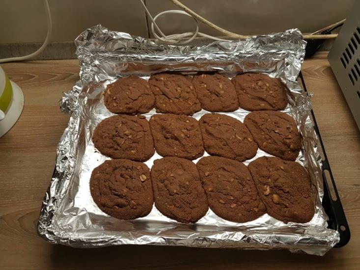 Cookies après dur labeur : merci Hariet!