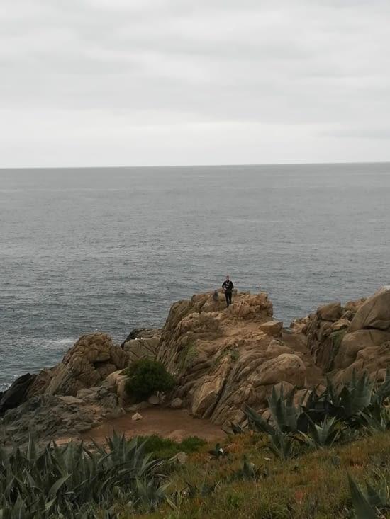Adrien sur La Roca Oceanica