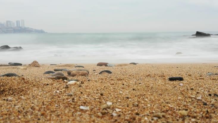 Eau de soie, Océan Pacifique