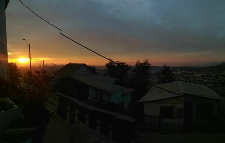 L'association possède un rooftop, d'où l'on peut admirer le coucher de soleil