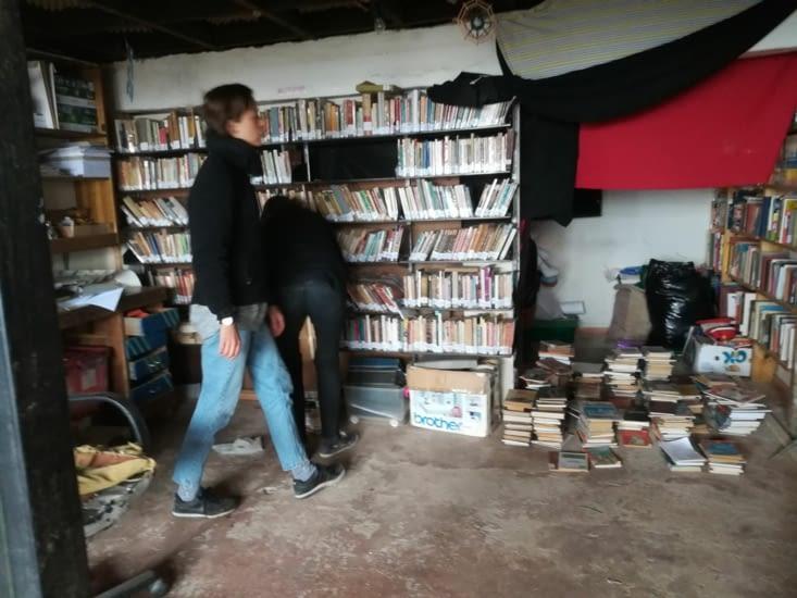 Eva et Alice ont trié les livres de A à Z.