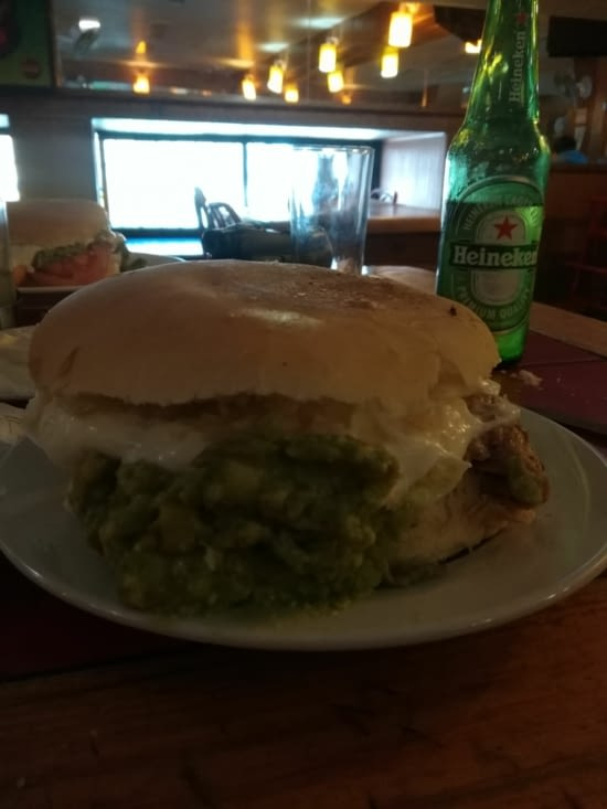 Le gros burger dont je vous parlais...