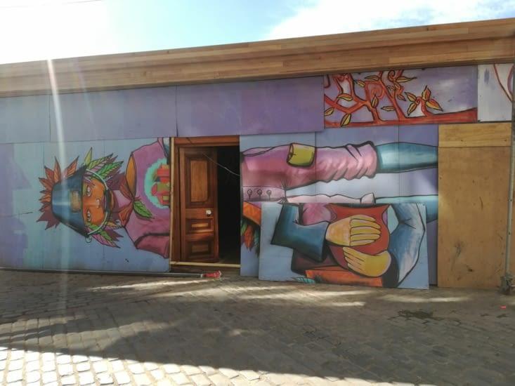 Les peintures de Valparaiso