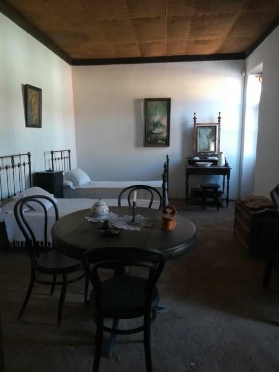 La réplique de la maison de Gabriela Mistral