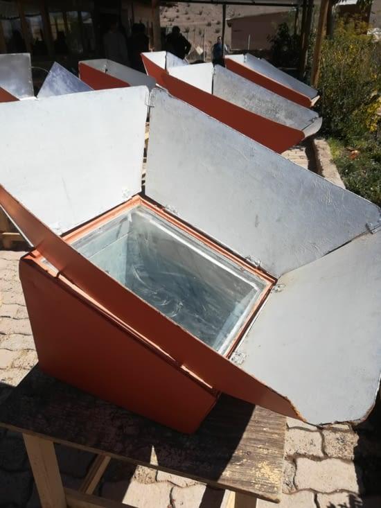 Le four solaire