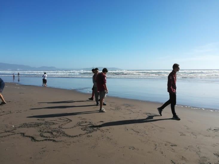 La plage de la Serena !