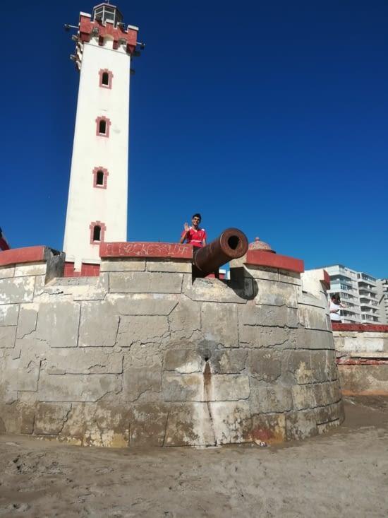 Le phare de la plage