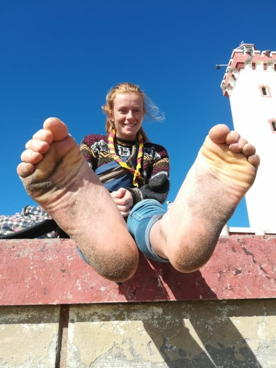 Les pieds de Malou