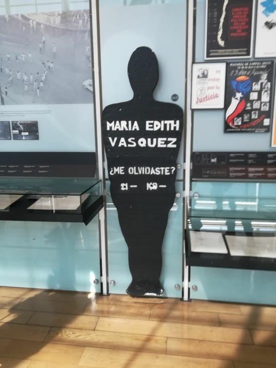 Maria Edith Vasquez, une oposante au régime qui a disparu...