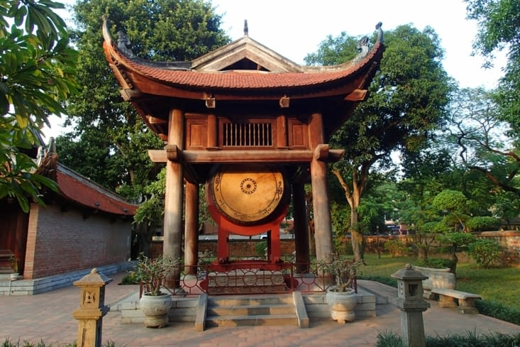 Ce temple est le seul de cette époque a n'avoir subi presque aucune modification.