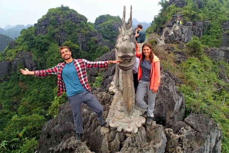 Ciao ciao la région nord, on s'aventure dans le centre du Vietnam maintenant !