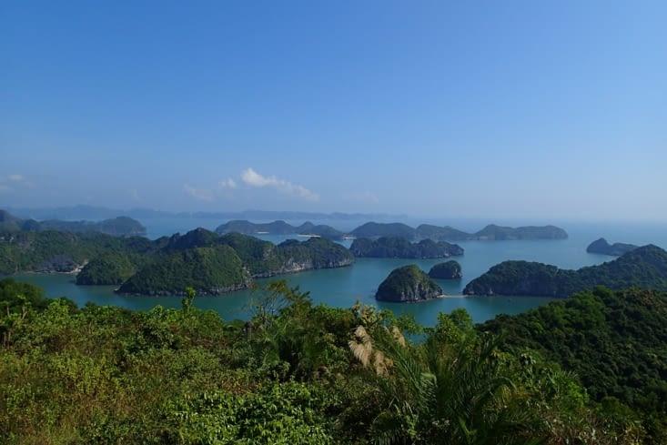 Du fait qu'il surplombe la mer, les points de vue sont magnifiques !