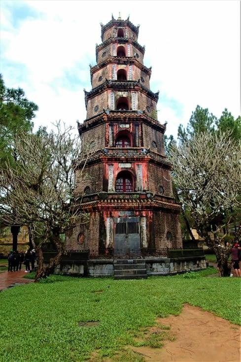 Dernière visite sympa à faire à Hué : la pagode de Thien Mu.