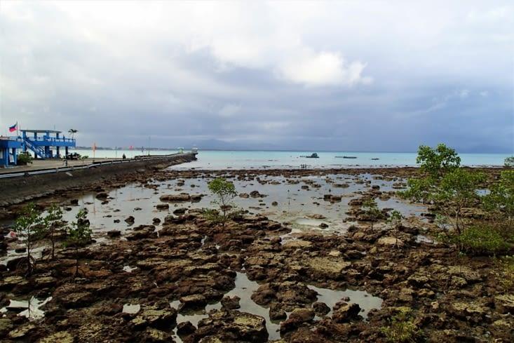Et voilà fin du beau temps?. Une tempête tropicale arrive pour nos 2 derniers jours ici.