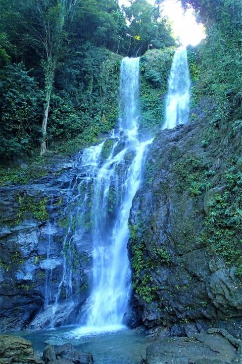 Et pour aller voir bien évidemment une cascade ? celle de Tamaraw.