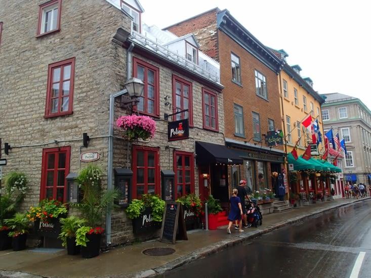 Québec est la plus ancienne ville du Québec. La vieille ville est classée à l'UNESCO.