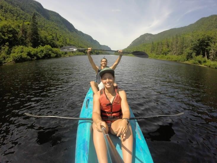Notre sortie annuelle en kayak même à l'autre bout du monde !