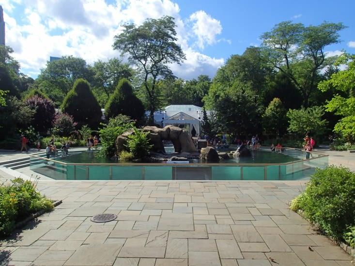 """Le Zoo de Central Park qui a inspiré le dessin animé """"Madagascar""""."""
