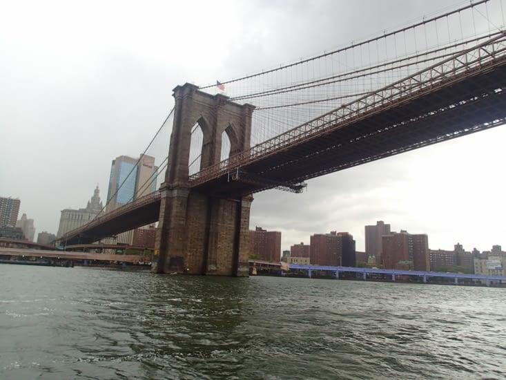Le fameux pont de Brooklyn.