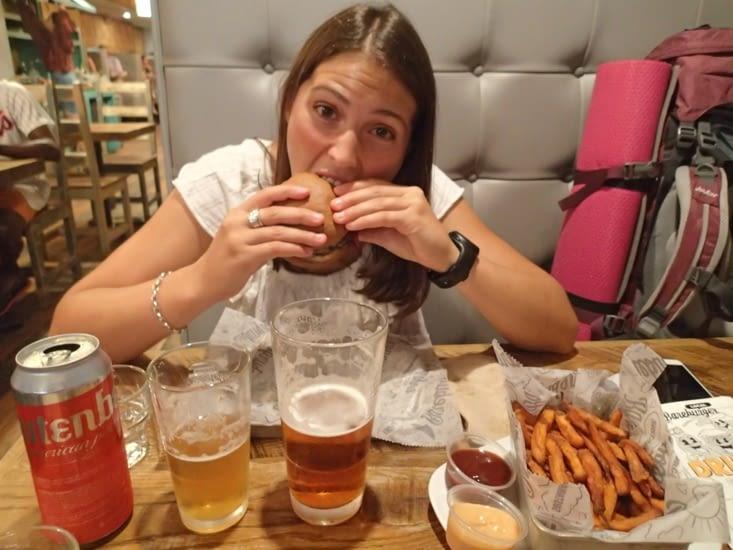 Le tant attendu burger sans gluten ! Parfait pour clôturer New York non :-D ?!