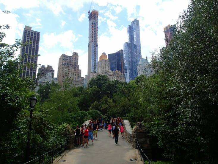 Le fameux Central Park; Comme tout le reste c'est immense mais très agréable.