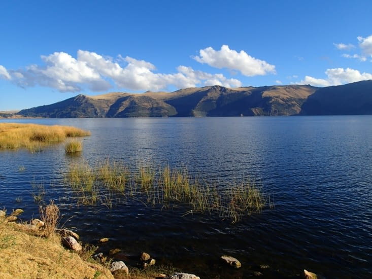 Avant de revenir sur Cusco, petit détour pour voir l'un des plus hauts lacs du Pérou.