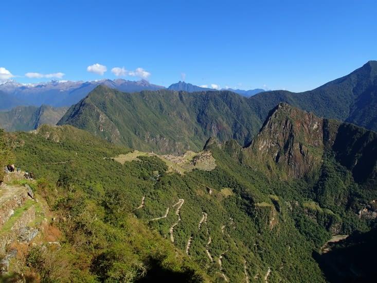 Vue du Machu Picchu depuis la Porte du Soleil.