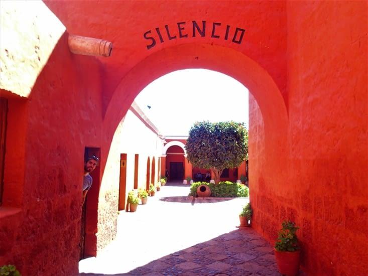 Visite du couvent Santa Catalina.