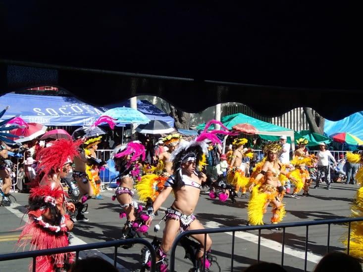 Qui dit défilé dansant, dit brésilien ! Ils ont vraiment ça dans le sang !