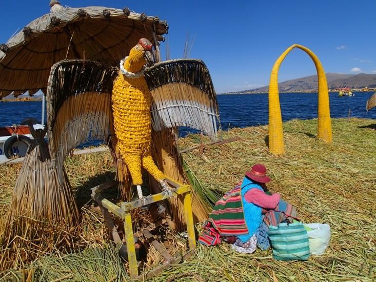 Le condor, toujours très présent dans la culture péruvienne.