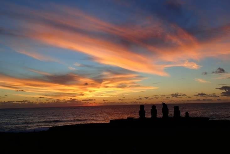 Meilleur spot de l'île pour le coucher de soleil. Magnifique !
