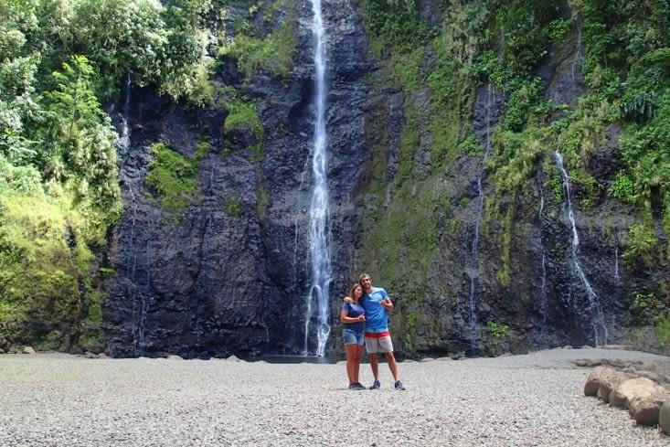 Pour aller voir une cascade et oui encore ? on adore ça !!!!!