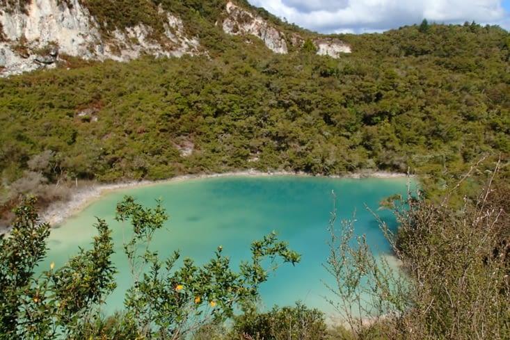 On est toujours dans le plateau volcanique donc belles couleurs et odeur qui va avec !