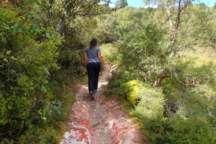 Pour finir cette merveilleuse journée, on se fait une petite randonnée gratuite.
