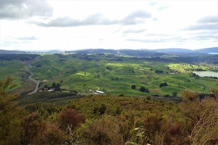 La fin de la randonnée offre une très jolie vue panoramique sur les environs. Top ?