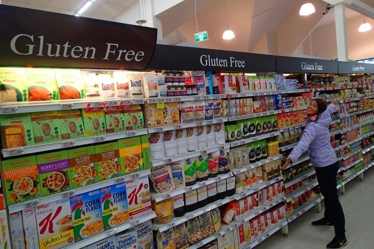 Avis aux intolérants au gluten, il faut déménager en NZ, c'est le top ! Lucie kiff !