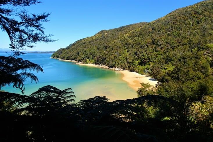 Le chemin ne fait que longer des plages idylliques. Ça donne envie de s'y baigner !