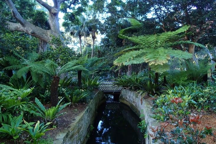 Le jardin botanique. Très agréable de s'y balader !