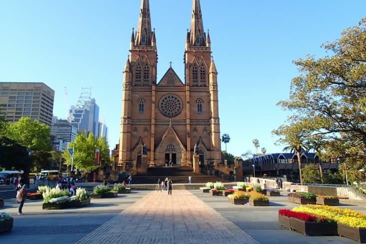 La cathédrale Ste Marie. Monument historique de la ville.